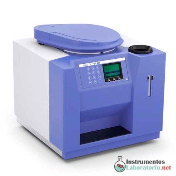 calorímetro de laboratorio